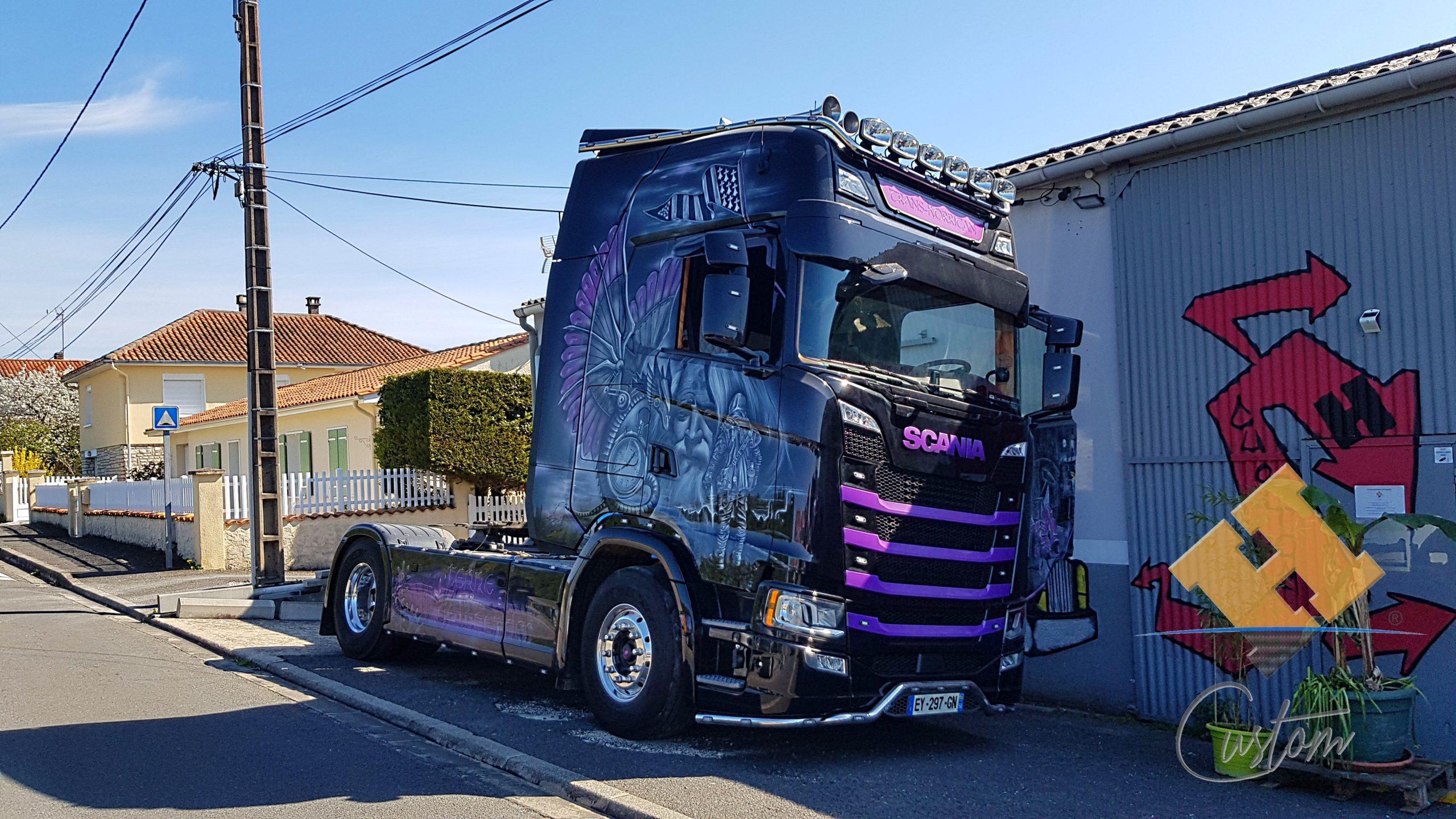Scania S500 Terre de Légendes