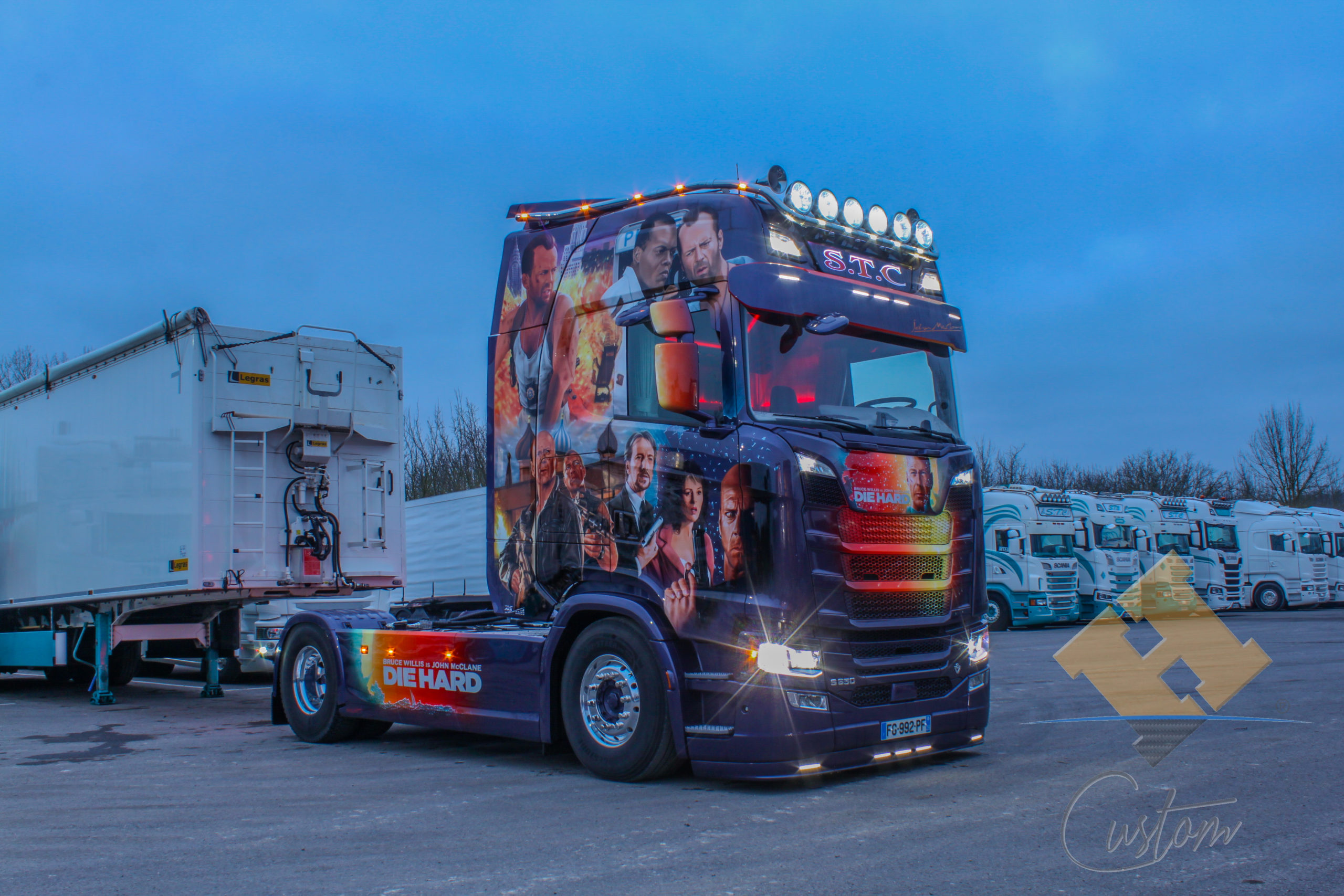 Scania V8 S650 Die Hard