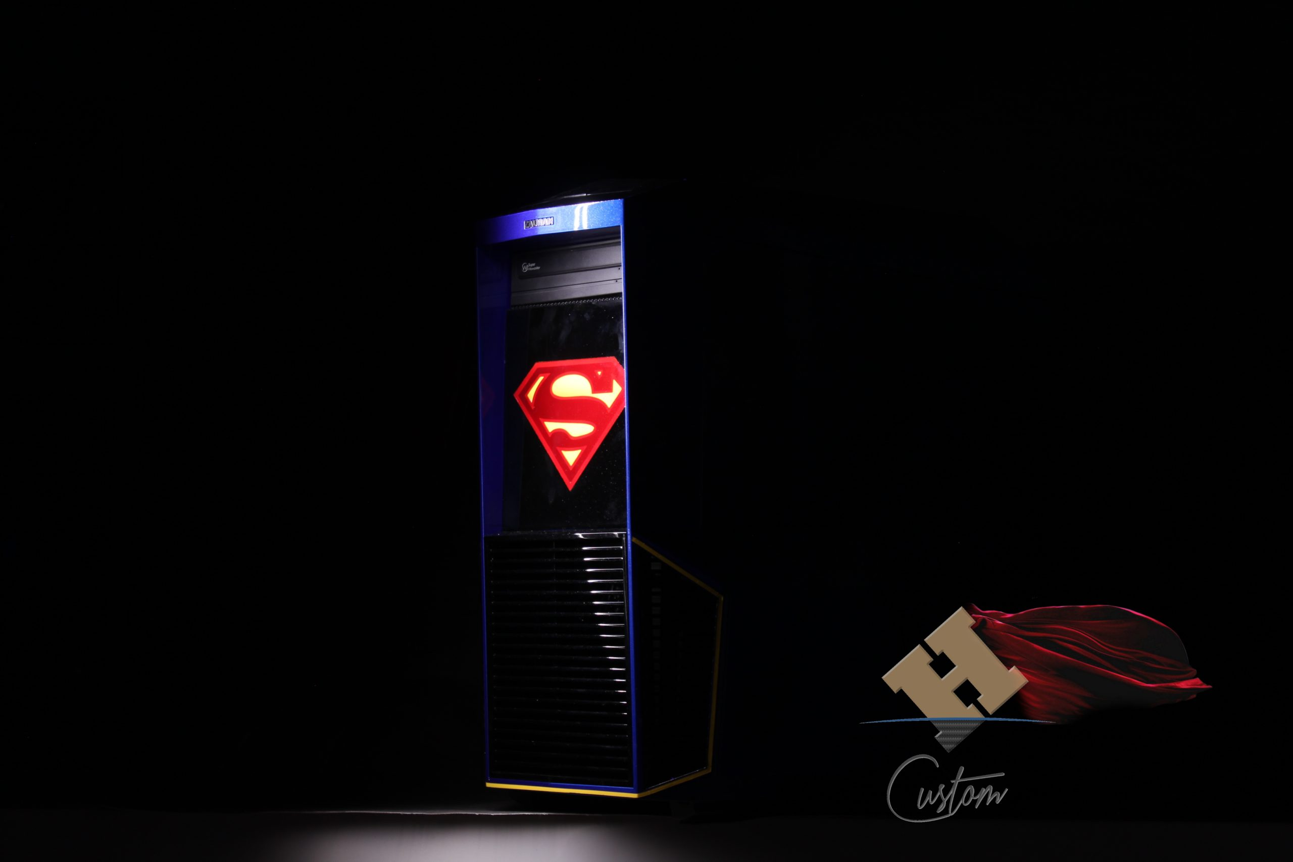 Tour de PC Superman