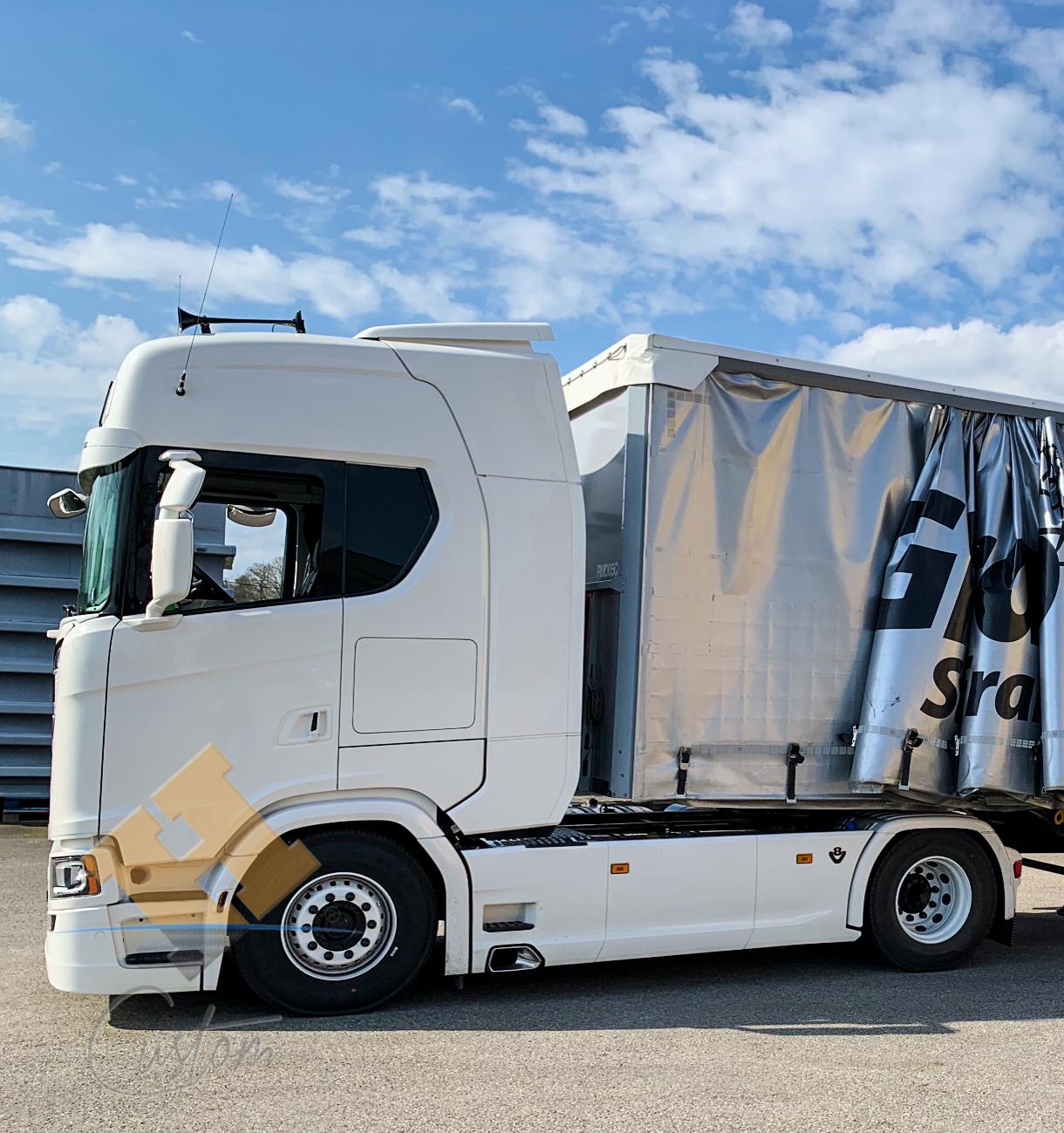 Scania V8 S580 Elyna