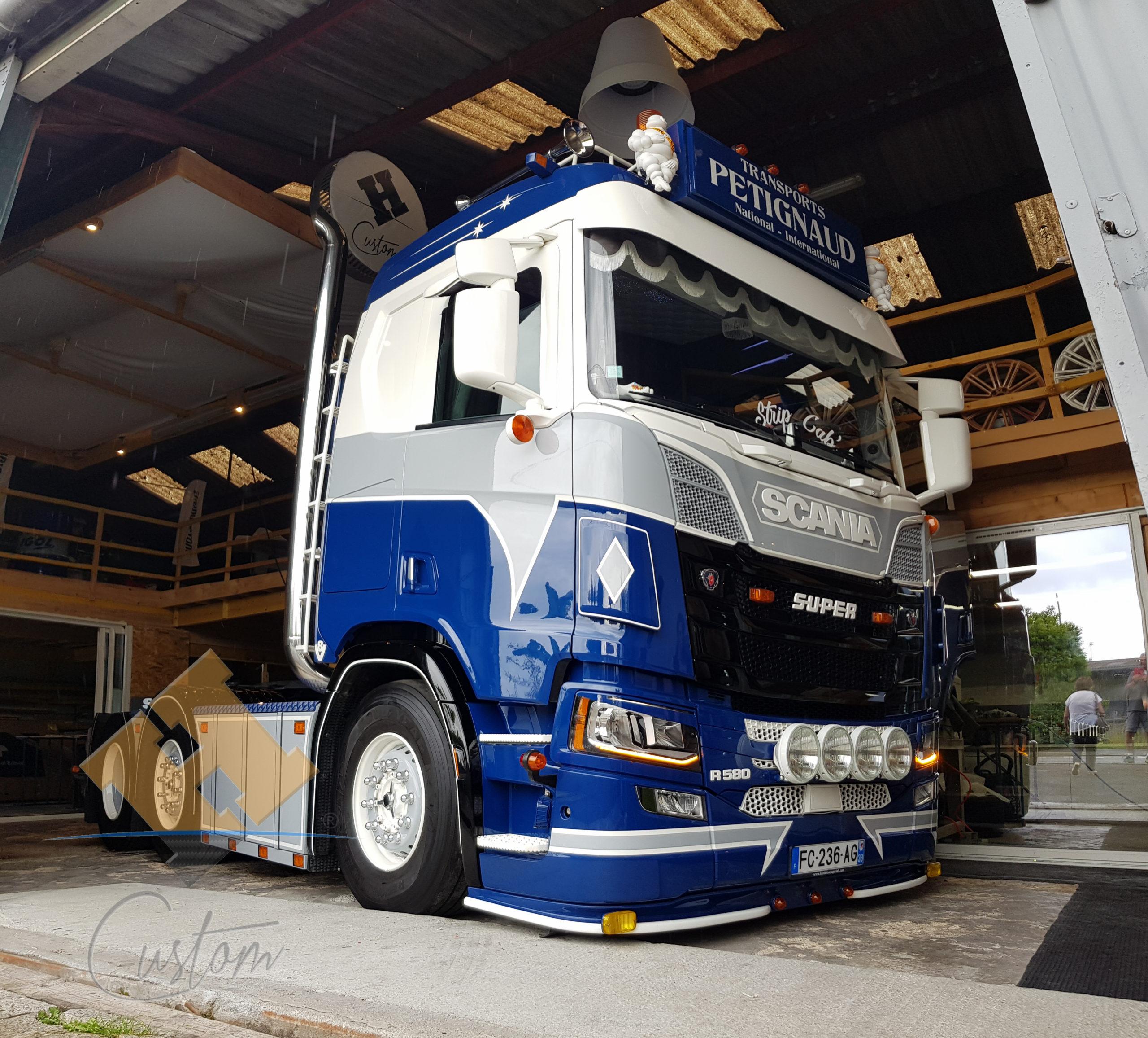 Scania V8 R580