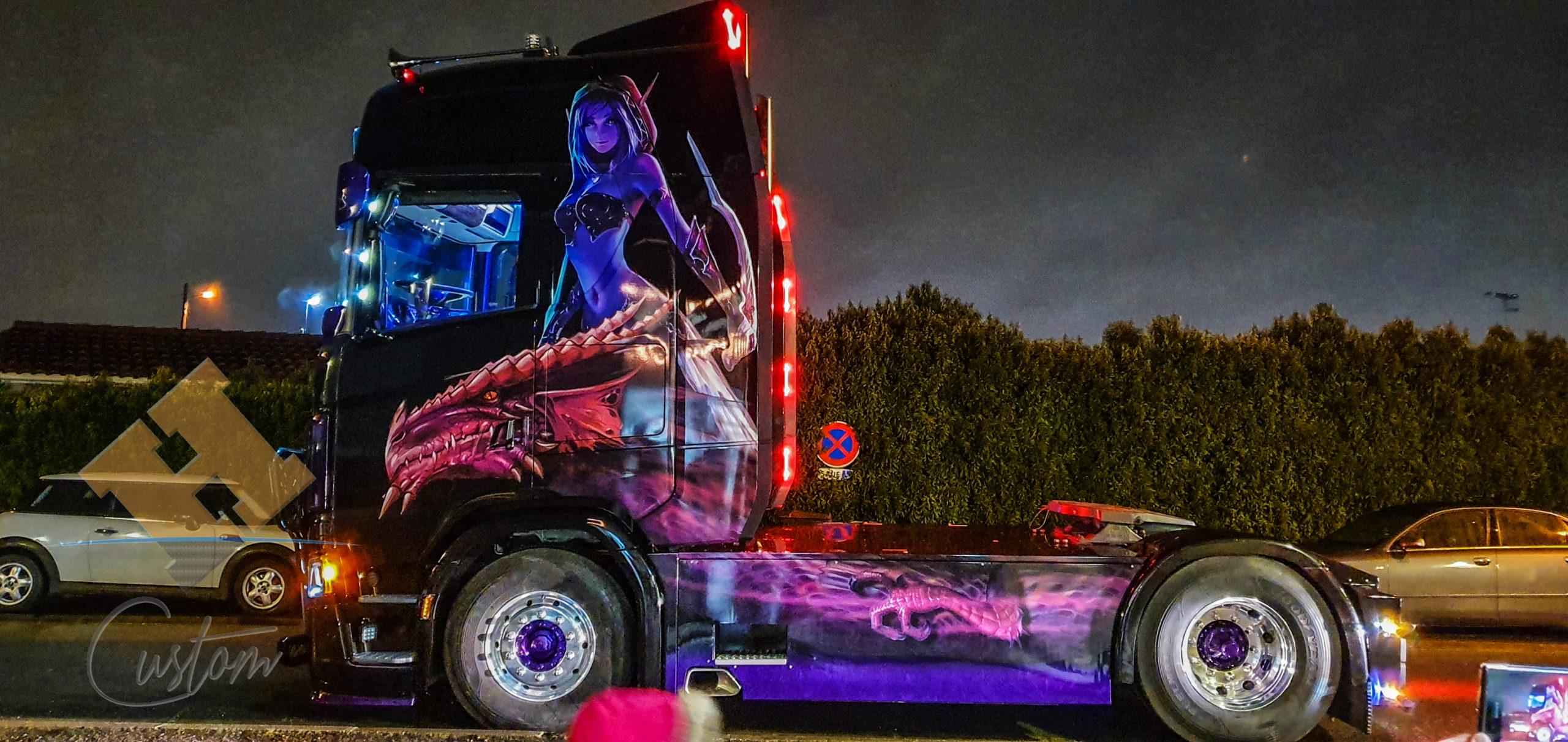 Scania V8 Légendes et Dragons