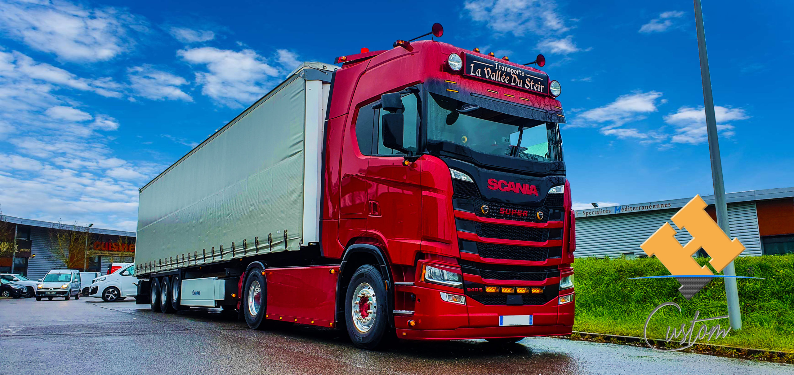 Scania Red Pearl